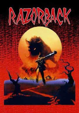 Razorback - 27 x 40 Movie Poster - German Style A
