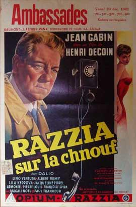 Razzia - 11 x 17 Movie Poster - Belgian Style A