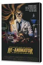 Re-Animator - 11 x 17 Movie Poster - Style B - Museum Wrapped Canvas