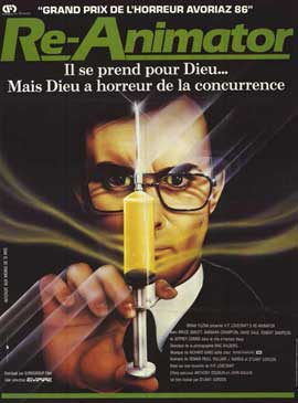 Re-Animator - 11 x 17 Movie Poster - French Style A