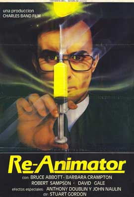 Re-Animator - 11 x 17 Movie Poster - Spanish Style A