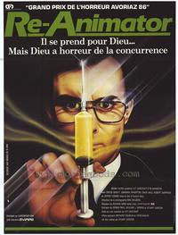 Re-Animator - 27 x 40 Movie Poster - French Style A
