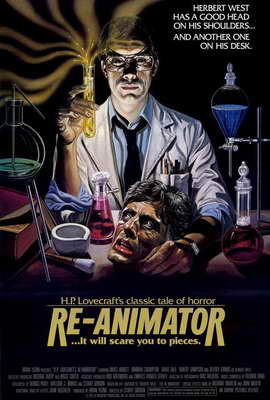 Re-Animator - 27 x 40 Movie Poster - Style B