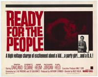 Ready for The People - 11 x 14 Movie Poster - Style A