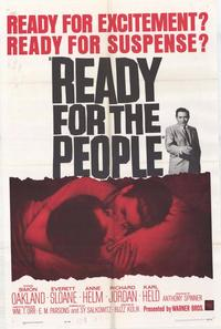 Ready for The People - 27 x 40 Movie Poster - Style A