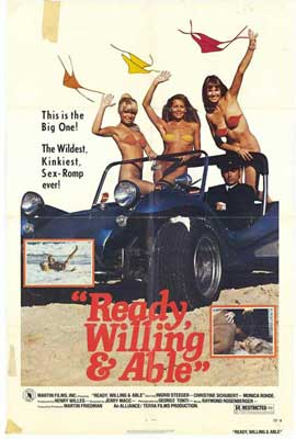 Ready Willing and Able - 27 x 40 Movie Poster - Style A