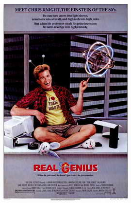 Real Genius - 11 x 17 Movie Poster - Style A