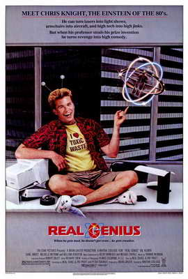 Real Genius - 27 x 40 Movie Poster - Style A