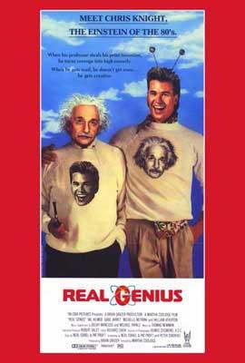 Real Genius - 27 x 40 Movie Poster - Style B