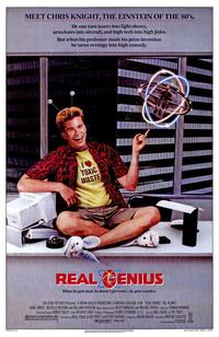 Real Genius - 43 x 62 Movie Poster - Bus Shelter Style A