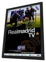 Real Madrid TV - 11 x 17 TV Poster - Style A - in Deluxe Wood Frame