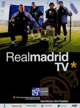 Real Madrid TV - 11 x 17 TV Poster - Style A
