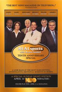 Real Sports with Bryant Gumbel - 27 x 40 TV Poster - Style A