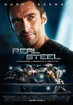 Real Steel - 27 x 40 Movie Poster - Italian Style A