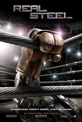 Real Steel - 27 x 40 Movie Poster - Style A