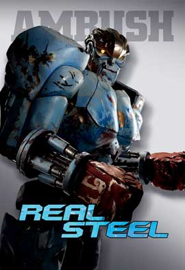 Real Steel - 27 x 40 Movie Poster - Style D