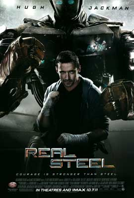 Real Steel - DS 1 Sheet Movie Poster - Style A