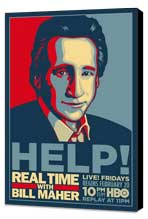 Real Time with Bill Maher - 11 x 17 Movie Poster - Style A - Museum Wrapped Canvas