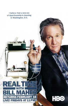 Real Time with Bill Maher - 11 x 17 TV Poster - Style A