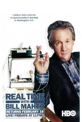 Real Time with Bill Maher - 27 x 40 TV Poster - Style A