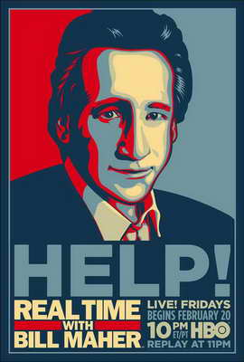Real Time with Bill Maher - 11 x 17 Movie Poster - Style A