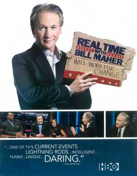 Real Time with Bill Maher - 11 x 17 TV Poster - Style B