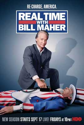 Real Time with Bill Maher - 11 x 17 TV Poster - Style E