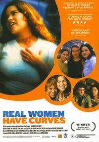 Real Women Have Curves - 11 x 17 Movie Poster - Style B