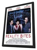Reality Bites - 11 x 17 Movie Poster - Style A - in Deluxe Wood Frame
