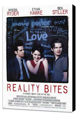Reality Bites - 27 x 40 Movie Poster - Style A - Museum Wrapped Canvas