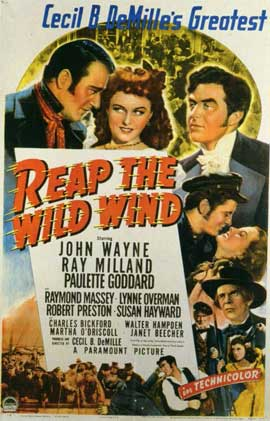 Reap the Wild Wind - 11 x 17 Movie Poster - Style A