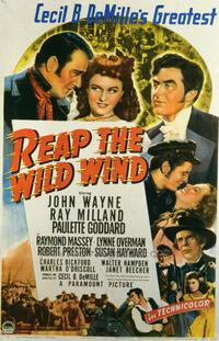 Reap the Wild Wind - 27 x 40 Movie Poster - Style A