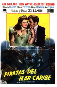 Reap the Wild Wind - 27 x 40 Movie Poster - Spanish Style A