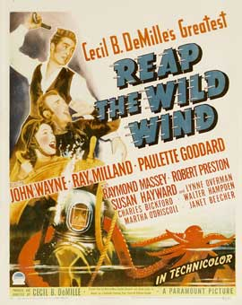 Reap the Wild Wind - 11 x 17 Movie Poster - Style C