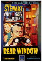 Rear Window - 27 x 40 Movie Poster - Italian Style A