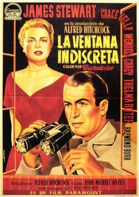 Rear Window - 11 x 17 Movie Poster - Spanish Style A
