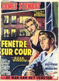 Rear Window - 11 x 17 Movie Poster - Style F