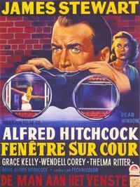 Rear Window - 11 x 17 Movie Poster - Belgian Style A