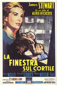 Rear Window - 27 x 40 Movie Poster - Italian Style B