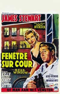 Rear Window - 27 x 40 Movie Poster - Belgian Style B