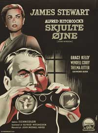 Rear Window - 11 x 17 Movie Poster - Danish Style A