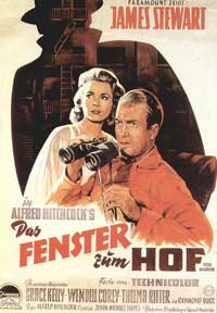 Rear Window - 11 x 17 Movie Poster - German Style C