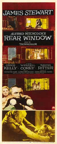 Rear Window - 14 x 36 Movie Poster - Insert Style A