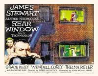 Rear Window - 30 x 40 Movie Poster UK - Style A
