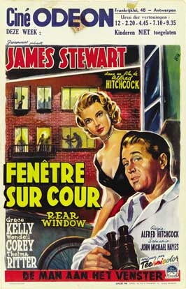 Rear Window - 11 x 17 Movie Poster - Style H