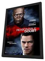 Reasonable Doubt - 27 x 40 Movie Poster - Style A - in Deluxe Wood Frame
