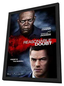 Reasonable Doubt - 11 x 17 Movie Poster - Style A - in Deluxe Wood Frame