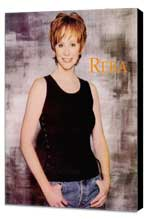 Reba McEntire - 11 x 17 Movie Poster - Style A - Museum Wrapped Canvas