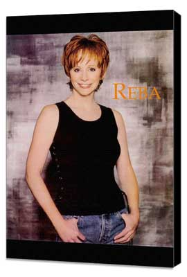 Reba McEntire - 27 x 40 Movie Poster - Style A - Museum Wrapped Canvas