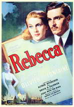 Rebecca - 11 x 17 Movie Poster - Style A